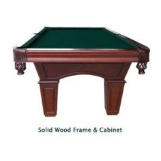 Pool Table Review: Harvil Toscana Wood Slate Pool Table