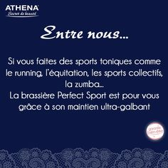Soutien-gorge sport femme Perfect Sport Athena Secret de Beauté 7c9edc559c7