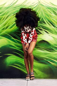 Solange Knowles is the ultimate cool girl, see her fashion shoot with Bazaar here.