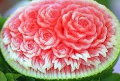 Savoir Faire Gastronômico - Arte em Frutas - Escultura em Melancia