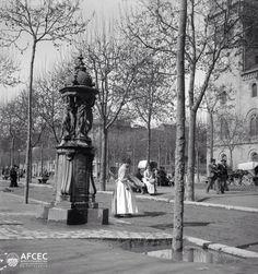 Barcelona, plaça Universitat 1888.