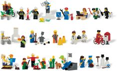Community Minifigure Set - 9348