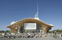 Pompidou Centre   Metz, France   Shigeru Ban/ Arup   Photograph by Hufton + Crow