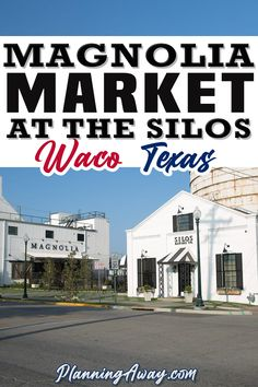Are you ready to plan a Magnolia Market trip? Awesome, you will have so much fun! The Silo's at Magnolia Market, owned by Joanna and Chip Gaines, is a great place for a weekend getaway or a day trip. Located in Waco, Texas.  Joanna and Chip are most known for their hit TV show on HGTV, Fixer Upper. They take the worst house in the best neighborhoods and turn them into a dream home. | Planning Away @planningaway #hgtv #fixerupper #magnoliamarket #wacotexasvacation #familyvacation… Best Travel Quotes, Best Places To Travel, Texas Travel, Travel Usa, Free Travel, Magnolia Market, Magnolia Waco Texas, World Travel Guide, Travel Guides
