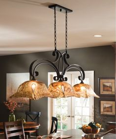 Your beautiful and functional kitchen island isn't complete without a matching light fixture. Find and save ideas about Kitchen island pendant lighting in here. See more ideas about Island pendant lights, Pendant lights and Kitchen island lighting. Kitchen Island Chandelier, Island Pendant Lights, Island Kitchen, Pendant Lighting, Uttermost Lighting, Pendant Lamps, Kitchen Lights Over Island, Island Pendants, Kitchen Cabinets