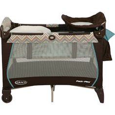 Graco Pack 'n' Play Playard with Newborn Napper Station, Avery
