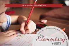 Elementary #homeschool made easy