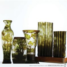 15 Glass Vases to Adorn Your Interior | Home Design Lover