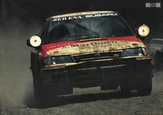 ra 38th Safari Rally WRC Subaru Legacy Debut..Blast from the Past Rally Memoirs.