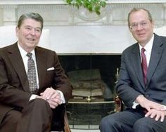 11/11/1987 President Reagan meeting with Judge Anthony Kennedy in the Oval Office