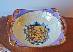 by Collectitorium Noritake, Gifts For Mom, Iridescent, Purple, Pink, Vintage Antiques, Mothers, My Etsy Shop, Hand Painted
