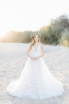 38f6b4505b177 Blush by Hayley Paige Fleur de lis wedding gown- desert boho bride Blush By  Hayley