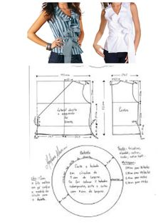 DIY - molde, corte e costura - Marlene Mukai - MyKingList.com