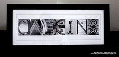 Alphabet Letter Photography  custom print by AlphabetArtDesigns, $29.00