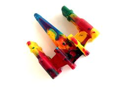 Do you have a Star Wars fanatic in your house? (I sure do!) They are sure to love these X-Wing Fighter Shaped Crayons. These jumbo crayons are