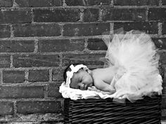 Baby,If I have a girl I want to do a picture of her in a TuTu!! =)