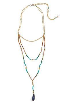 Nakamol Design Triple Strand Necklace