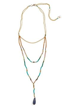 Nakamol Design Triple Strand Necklace