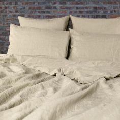 Duvet Cover Soft Washed Linen Natural
