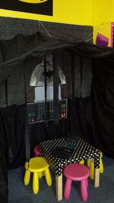 Bat cave talk area - batman we have a problem!