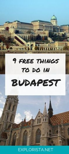 Budget travelers rejoice! Budapest, Hungary is filled with free things to do and see.