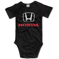 Sokie Babys Bodysuit Romper Jumpsuit Baby Clothes Outfits Honda Logo Black ** Visit the image link more details. Note:It is affiliate link to Amazon.