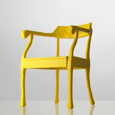 hand carved wooden chair by Design345