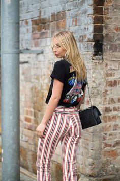 Australian Fashion Week 2015 Street Style Harper's Bazaar Alexandra Spencer