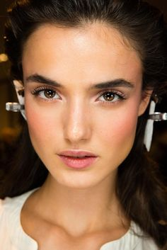 Versace Spring 2015 Ready-to-Wear - Beauty - Gallery - Look 16 - Style.com