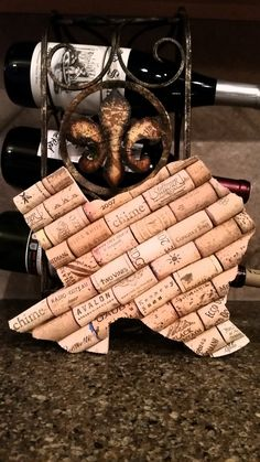 Texas - Wine Cork - Personalized - Monogram - Art - Board - Trivet - Decor - Home - Vino - Gift - Wall - Corkboard by StateofWine on Etsy