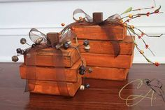 Decorative Fall Pumpkin LARGE by CountryAllure on Etsy, $14.50