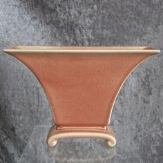 """Cowan Pottery Pillow Vase #801, """"Primrose"""" Glaze, Circa 1928"""