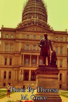 Governor Austin Blair Michigan State Capitol