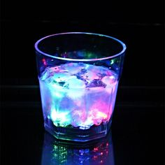 LED Whisky Glass    See your smooth drink flash as you pour in the drink.Our flashing LED Whisky Glass has an LED located in the base that flashes or blinks when liquid is poured into the glass.
