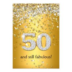 Fabulous 60 Gold Silver Streamers Birthday Card Still Fabulous 60 Gold Silver Streamers. Party Invites for all ages, Customize with your own details. 50th Birthday Cards For Women, Birthday Greetings For Mom, 60th Birthday Cards, 70th Birthday Parties, Birthday Ideas, Birthday Wishes, 50 Birthday, Fabulous Birthday, Birthday Board