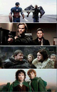 Everyone needs a Sam
