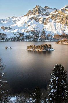 Beauty of Nature: Lac de Sils, Switzerland