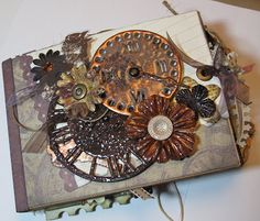 """With A Grin: """"With A Grin"""" Blog Candy! (Scrapbooking Paper Bag Mini Album)"""