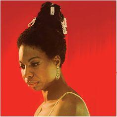 """Nina Simone (1933-2003) – fotografada em 1967 por David Redfern para a capa de seu 30° álbum, """"Silk & Soul"""". Veja também: http://semioticas1.blogspot.com.br/2012/08/biografia-de-uma-cancao.html"""