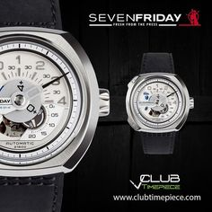 Sevenfriday V-1... Find it soon at our website for only $1450 & get a FREE strap!!! by club_timepiece