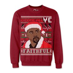 Lizzo fan,Hip Hop Christmas Sweater,Ugly Sweater,Black girl magic funny xmas hip hop christmas Gift for her Ugly Sweater