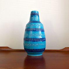 Large Rimini Blu Bitossi Vase