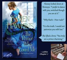 THE PRINCE WHO LOVED ME by Karen Hawkins -- Check out my review here: http://frommetoyouvideophoto.blogspot.com/2014/10/feasted-on-princes-of-oxenburg-series.html  #KarenHawkins