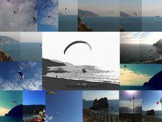 #paragliding in #Monterossoalmare#Cinqueterre