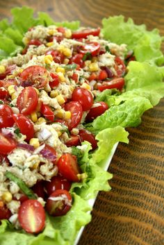 Corn, Crab and Tomato Salad