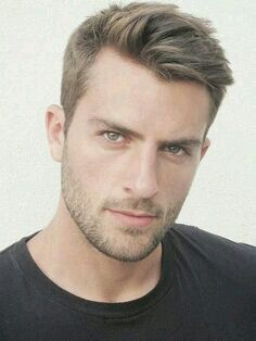 Short Hairstyles For Men With Beard Simple Shortthe Hair Is Cut Short On The Sides And Back And A