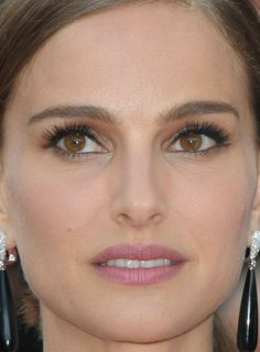 Natalie Portman Style, Nathalie Portman, Beauty Crush, Cannes 2015, Leona Lewis, Brunette Makeup, Lily Donaldson, Berry Lips, Nikki Reed
