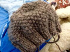 Cappellino punto riso-lana mondial maxi-punte 6