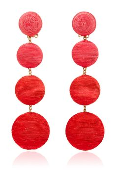 Les Bonbons Earrings by REBECCA DE RAVENEL for Preorder on Moda Operandi
