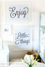sarah m. dorsey designs: Statement Art Free Download: Making these for the house!